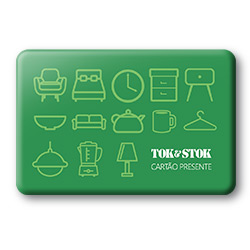 Cartão Presente Tok&Stok